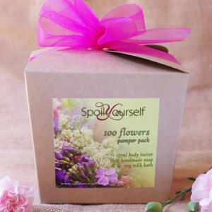 Pamper Box – 100Flowers