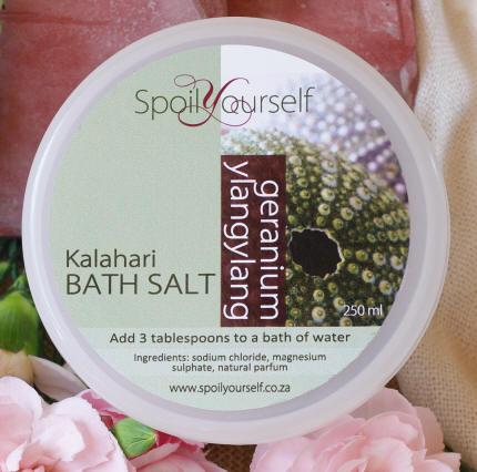 Kalahari Bath Salt – Vanilla Milk med