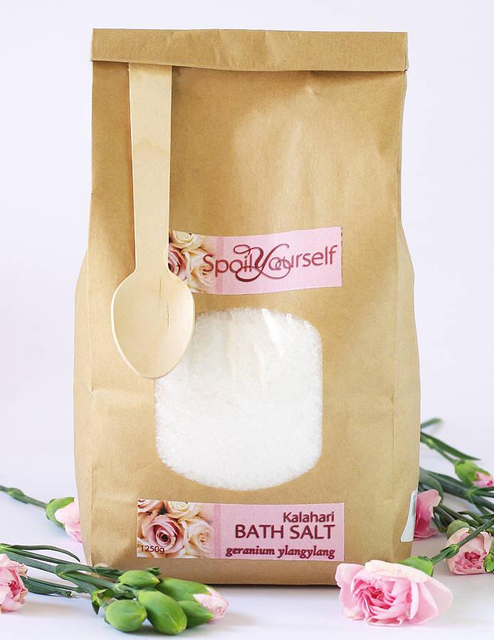Kalahari Bath Salt – Geranium Ylangylang lrg