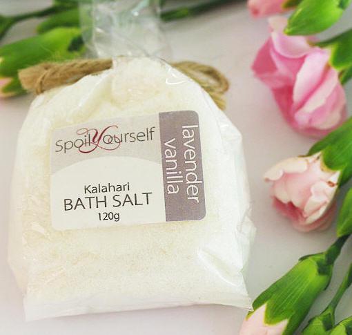 Kalahari Bath Salt – Lavender Vanilla sml