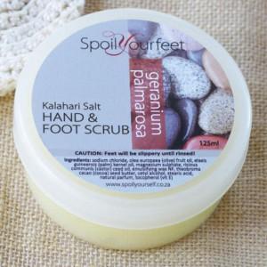 Foot Scrub – Geranium Palmarosa