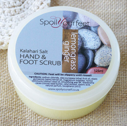 Foot Scrub – Lemongrass Ginger
