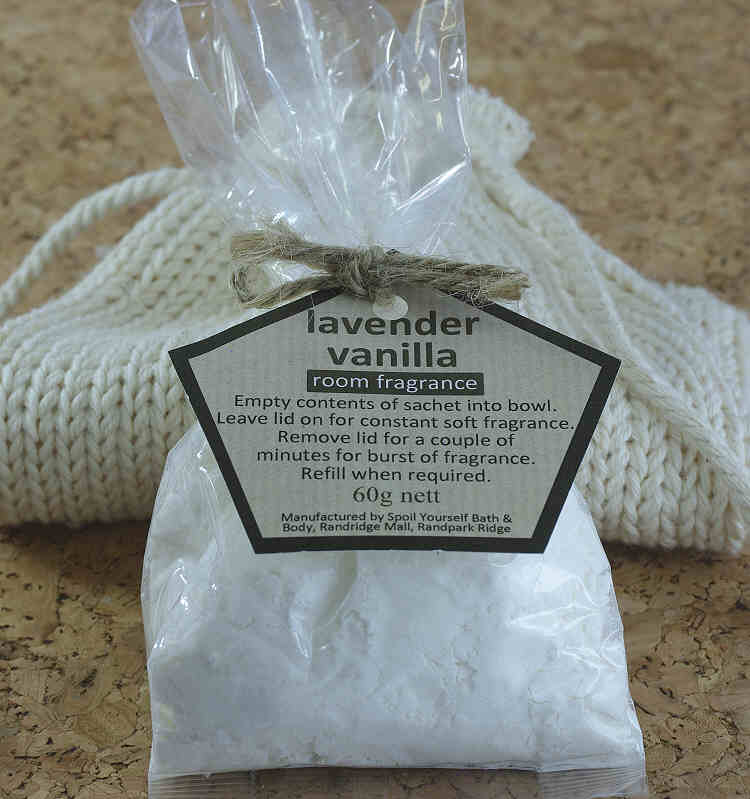 Room Fragrance Powder – Lavender Vanilla