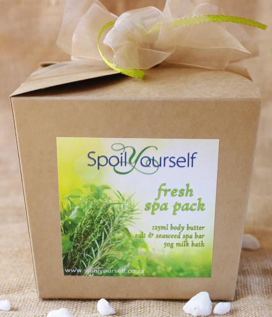 Pamper Box – Lemongrass