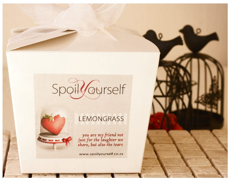 Gift Box w/Scrub – Lemongrass