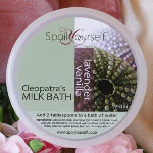 Milk Bath – Lavender Vanilla med