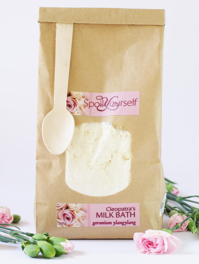 Milk Bath – Geranium YlangYlang lrg