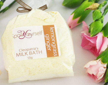 Milk Bath – Lemongrass Ginger sml