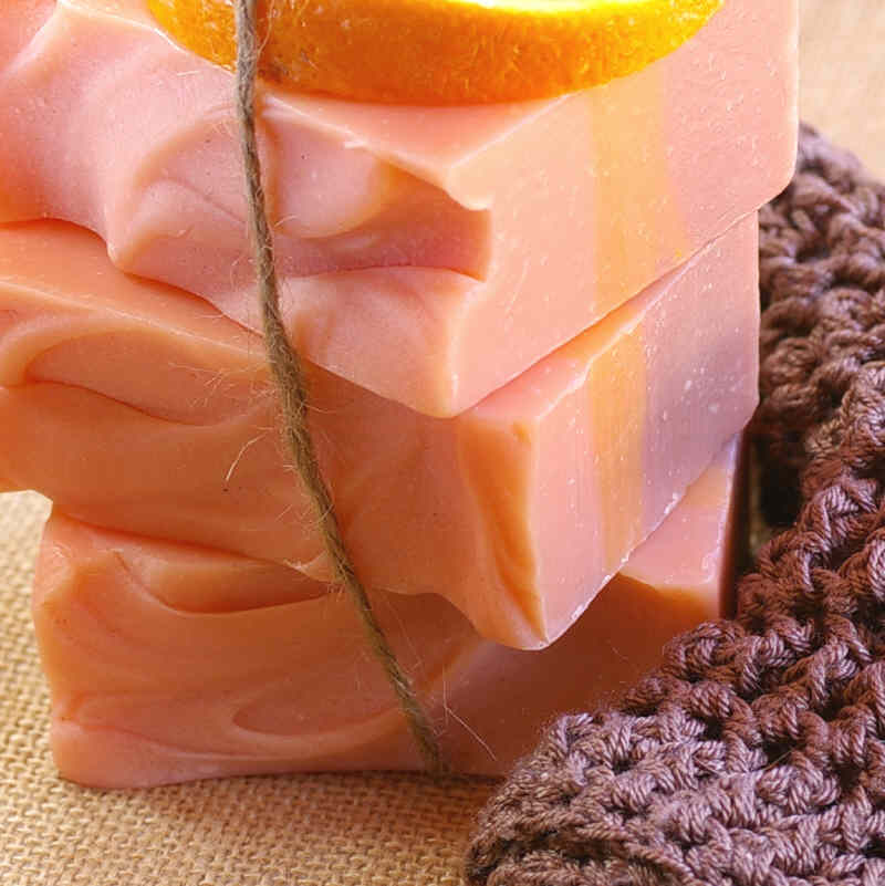 Natural Orange Orchard Soap