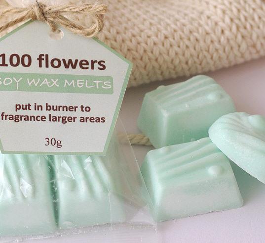 Wax Melts – 100Flowers