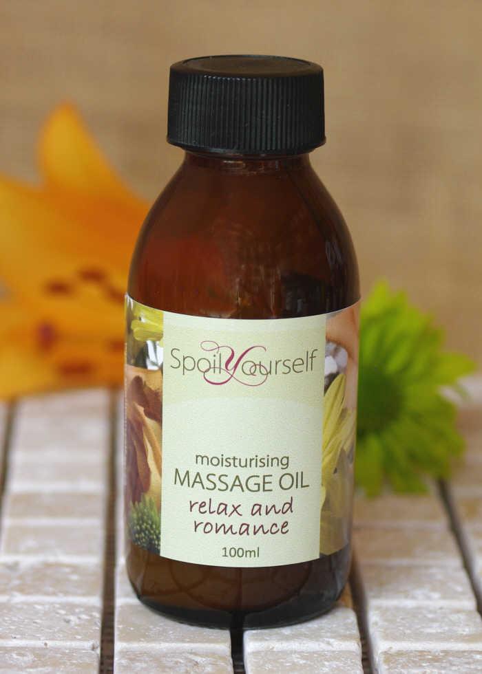 Massage Oil – Relax & Romance
