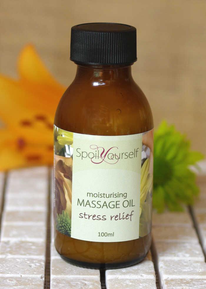 Massage Oil – Stress Relief