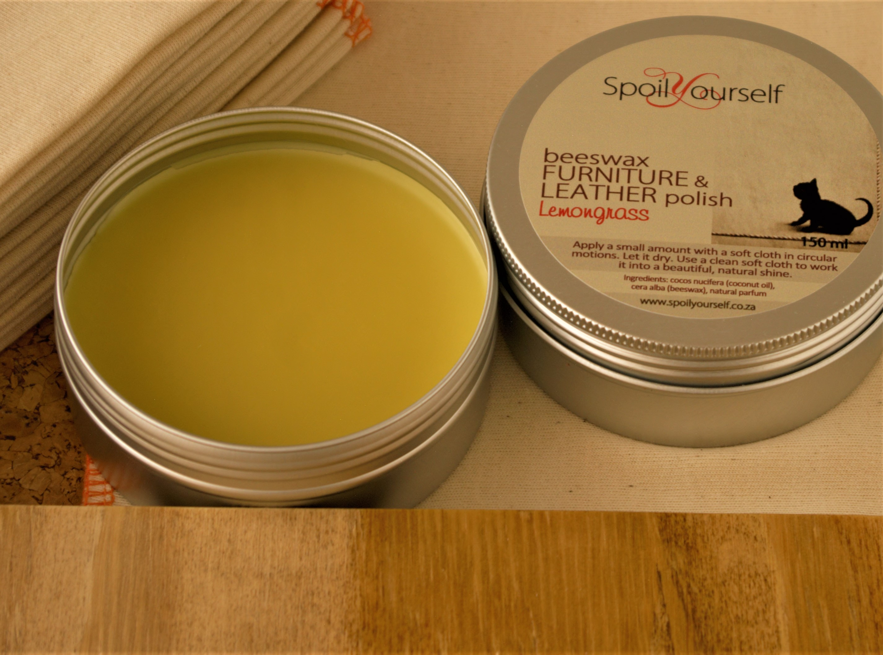 Beeswax Polish – Lemongrass